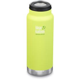 Klean Kanteen TKWide Flaske med rustfri stål 946ml vakuumisoleret, gul